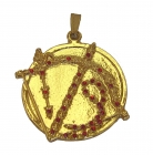 Golden Enthrallment Pendant