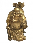 Big Golden Laughing Buddha Statue