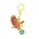 Red Eagle Protection Amulet Keychain