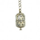 Diamond Cutter Sutra Prayer Wheel Keychain
