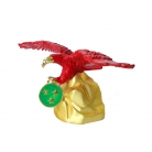 Feng Shui Red Eagle Statue