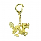 Bejeweled Dragon Amulet Keychain