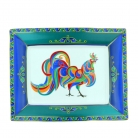 Colorful Rooster Tray