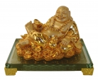 Golden Lying Down Happy Money Buddha