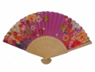 Wooden Slab Chinese Folding Hand Fan