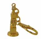 Bejeweled 5 Element Pagoda Keychain