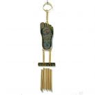 Buddha Foot 5-Rod Windchime