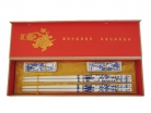 Set of Blue Plum Flower Porcelain Chopsticks