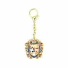 Annual Crest Keychain Amulet