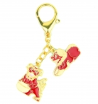 Tzi Chi Kau Red Dog Amulet Keychain