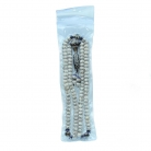 108 Bead Mala Necklace with 9-Eye Dzi Bead