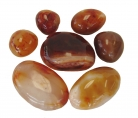 Extra Jumbo Size Carnelian Tumbled Polished Natural Stone