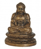 Small Golden Meditation Buddha Statue