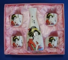 Ceramic Japanese Saki Set