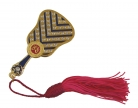 Empower Mirror Fan w/ Red Tassel for Power and Influence