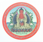 Amitabha Window Sticker