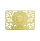 Success Talisman on Gold Card
