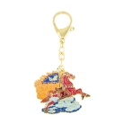 Flying Horse Amulet Keychain