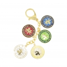 5-Element Mirror Amulet Keychain