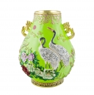Green Luminious Vase