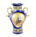 Blue Treasure Vase