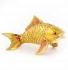 Bejeweled Golden Fish