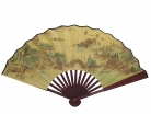 Big Hand Fan w/ Picture of Bridge