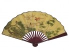 Big Hand Fan w/ Picture of Honey Birds