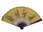 Big Hand Fan w/ Picture of 4-Seasons