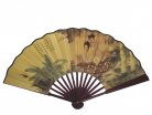 Big Hand Fan w/ Picture of Chinese Ladies