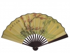Big Hand Fan w/ Picture of Plum