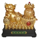 21 Inch Big Golden Pig Statue