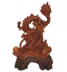 23 Inch Big Chinese Dragon Statue