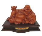 12 Inch Lying Down Happy Money Buddha