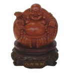 8 Inch Rotatable Chinese Laughing Fat Buddha Statue