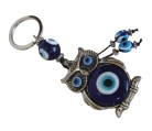 Night Owl Evil Eye Amulet