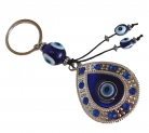 Drop-Shaped Anti-Evil Eye Amulet
