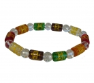 5 Element Crystal Bracelet w/ Syllable Mantra