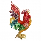 Bejeweled Rooster Statue