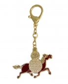 Life Force Amulet with Red Windhorse & Wishgranting Mantra