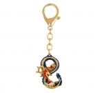 Dragon & Rat Prosperity 8 Keychain
