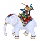 Monkey God On Elephant