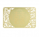 Love & Happiness Gold Talisman Card