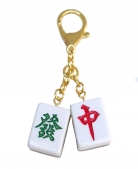 Lucky Mahjong Tiles Amulet for Wealth & Windfall Luck