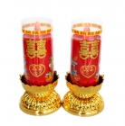 Pair of Double Happiness Candles