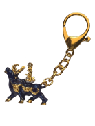 Wealth Bull Amulet Keychain For Activating Immense Wealth & Big Auspicious