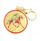 Kuan Kung on Horseback Anti Betrayal Amulet