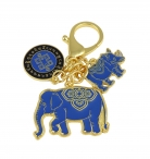 Anti Robbery Amulet 2021 with Blue Rhino Elephant