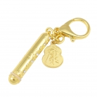 Health Talisman Holder with Wu Lou Keychain Amulet