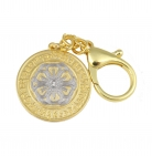 Happiness and Wealth Amulet Keychain